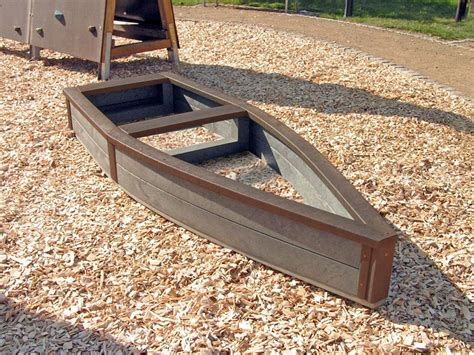 Plastic Raised Planter Boxes by Children S Recycled Plastic Adventure Ship Sand Box