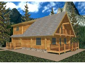 gasconade a frame log home plan 088d 0006 house plans
