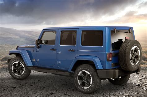 Blue Jeep Wrangler 4 Door Imgkid Com The Image Kid