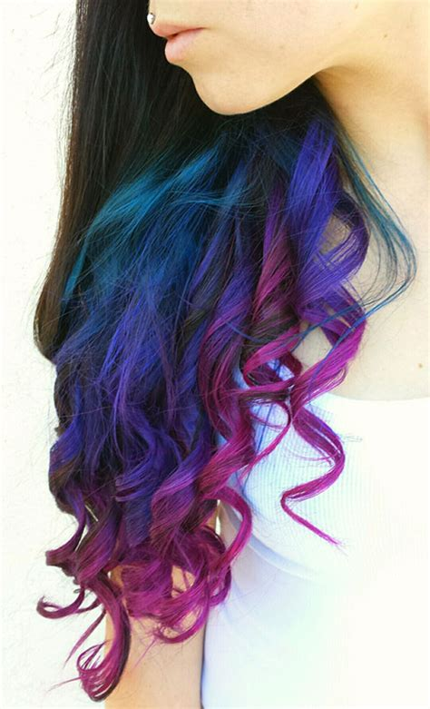 is ombre blue hair ok for older women top 50 funky hairstyles for women curly brown and funky