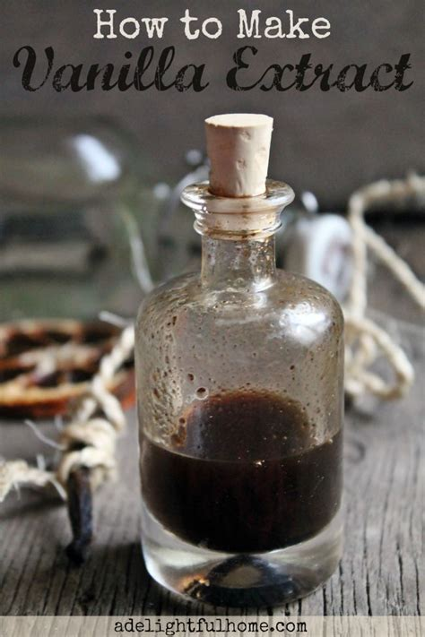 how to make vanilla extract a delightful home