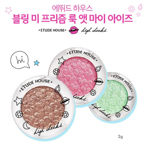 Bling Me Prism 05 Bling Blod etude house x high cheeks bling me prism collection