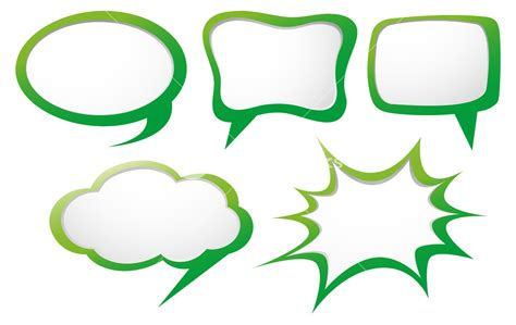 Speech Bubbles Template by Speech Bubbles Template Www Pixshark Images