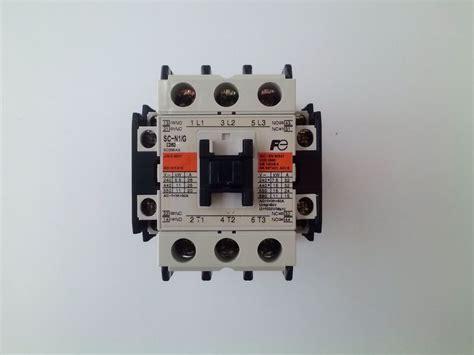 Kontaktor Fuji Sc 05 220vac fuji electric sc n1 g magnetic contactor used ebay