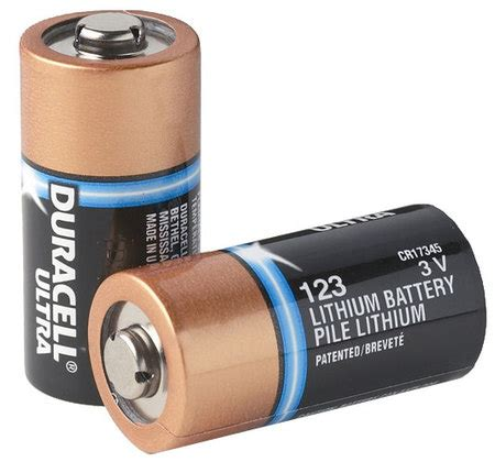 Baterai Cr123 zoll aed plus duracell lithium cr123 battery 10 pack