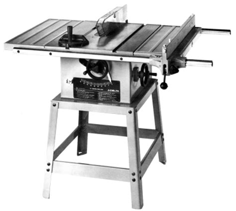 delta table saw parts delta 10 quot contractor s table saw 34 444 parts manual