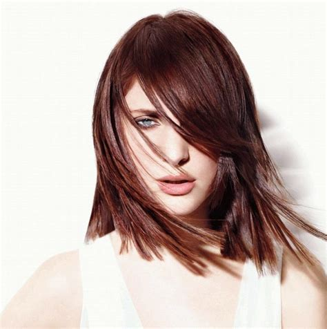 different mahogany hair color styles mahagoni haarfarbe trendige nuancen und pflegetipps