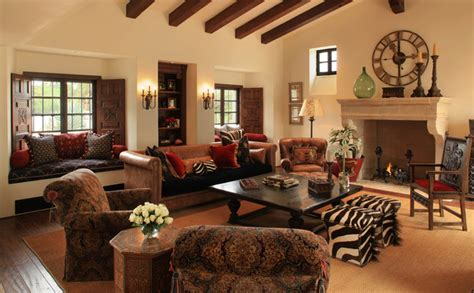 spanish home interiors spanish colonial