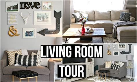 living room tour living room tour 2016 affordable home decor youtube