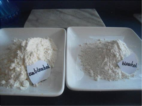 what is the difference between bleached and unbleached flour vitality health nutrition