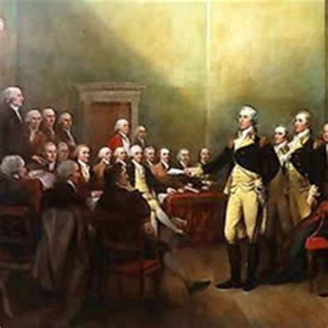 S Resignation Letter Washington Post General George Washington Resigned His Commission In Annapolis Maryland Us House Of