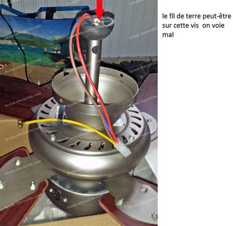 Branchement Ventilateur Plafond forum 201 lectricit 233 probl 232 me branchement ventilateur plafond