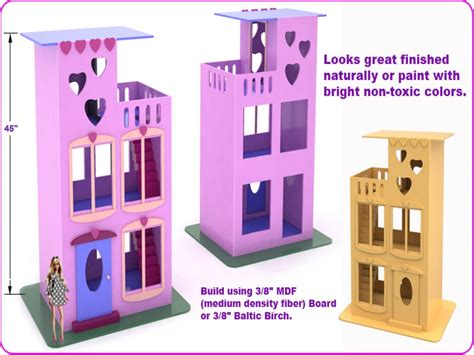 dollhouse size 0 dollhouse size dolls size doll house plans easy
