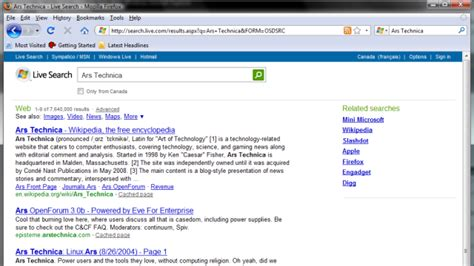 firefox live themes firefox gets a live search add in but does anyone care