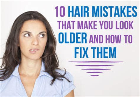 best hairstyle for jowls un frump 10 hair mistakes that make you look older and