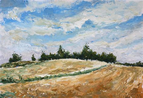plein air paintings from paint snow hill featured in may plein air painting dune near darevo village belarussia