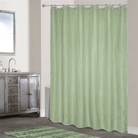 waffle weave shower curtain united curtain company quot hamden quot solid waffle weave woven