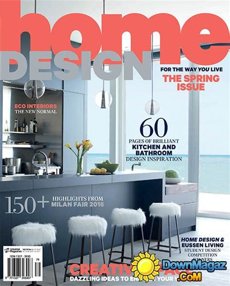 home design magazines free pdf home design volume 19 issue 4 2016 187 download pdf
