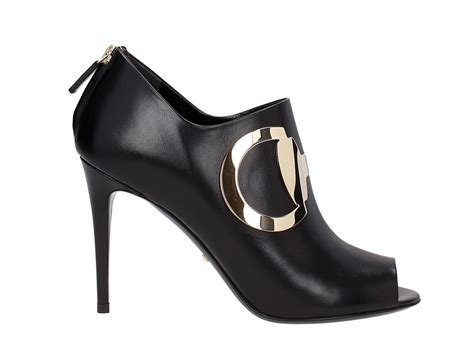 gucci high heel gucci high heels ankle boots in black leather italian
