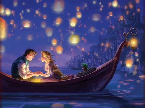 boat scene drawing the art of tangled tangled storybook deluxe