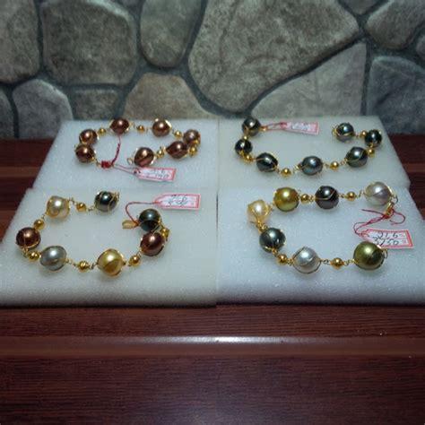 Gelang Mutiara Lombok Asli Mutiara Air Tawar Rangka Rodium 14 harga cincin emas mutiara air laut harga yos