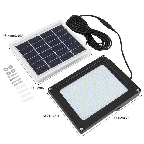solar dusk to flood light solar powered 150led dusk to sensor waterproof