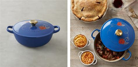 le creuset disney your castle guests will love this beauty and the beast