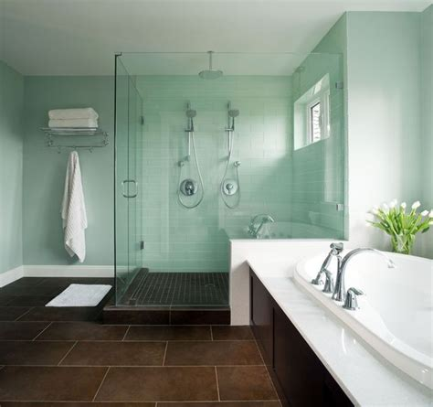mint green bathroom tile ideas  pictures