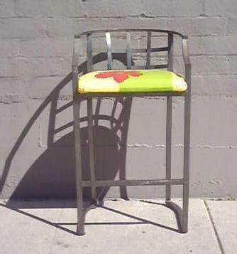 Yellow Fabric Bar Stools by Bar Stool Yellow Green Fabric Seat Psw