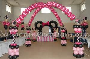 minnie mouse decorations birthday kid s birthday minnie mouse themed