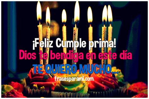 imagenes hermosas de feliz cumpleaños prima feliz cumplea 241 os prima 187 im 225 genes postales y frases para