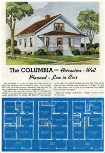 1920s Floor Plans 1939 Modern Bungalow Lewis Manufacturing New Liberty