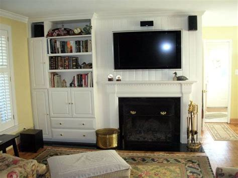 Bedroom Fireplace Centre Center Fireplace With Bookshelf Fireplaces