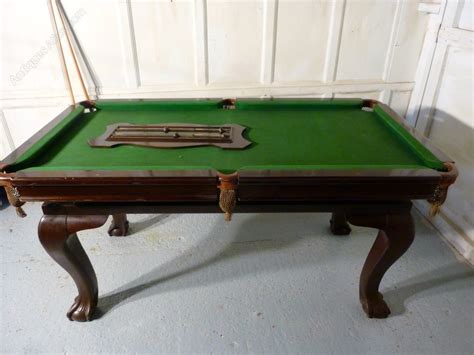 Riley Mahogany Dining Billiard And Snooker Table Antique Snooker Dining Table