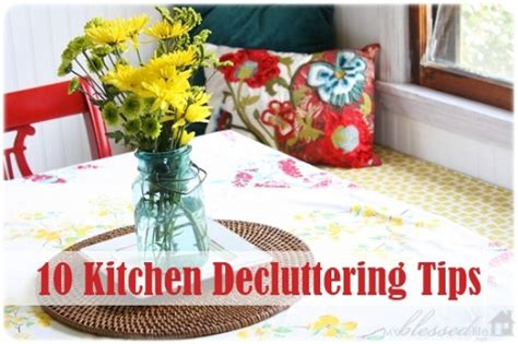 how to declutter kitchen 10 kitchen decluttering tips