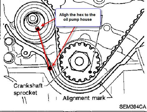 remove a tensioner for a 2000 nissan xterra what is the correct way to install a timing belt tensioner