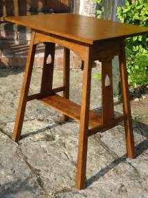 arts and crafts table arts crafts liberty co side table antiques atlas
