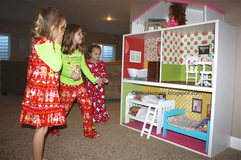 girl doll houses let kids create american girl dollhouse ikea hack
