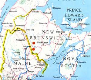 york canada map
