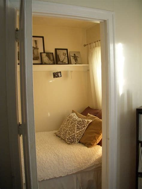 bed in closet ideas best 20 closet bed ideas on pinterest bed in closet