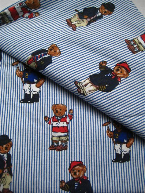 polo bed sheets vintage ralph lauren polo bear twin size sheet set flat fitted