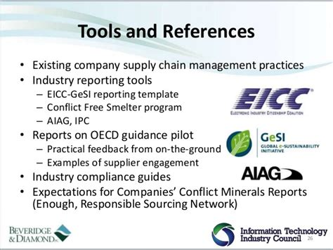eicc gesi conflict minerals reporting template 28 images
