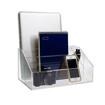 clear acrylic desk organizer clear acrylic desktop organizer office desk organizers