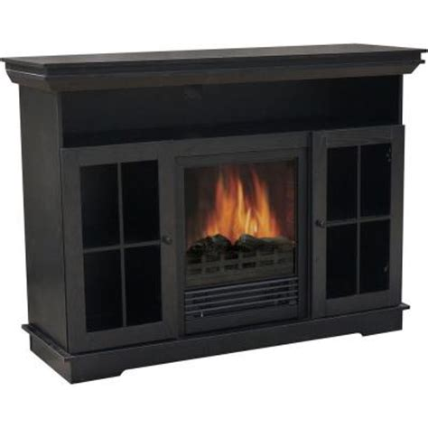 quality craft 48 in media console electric fireplace in