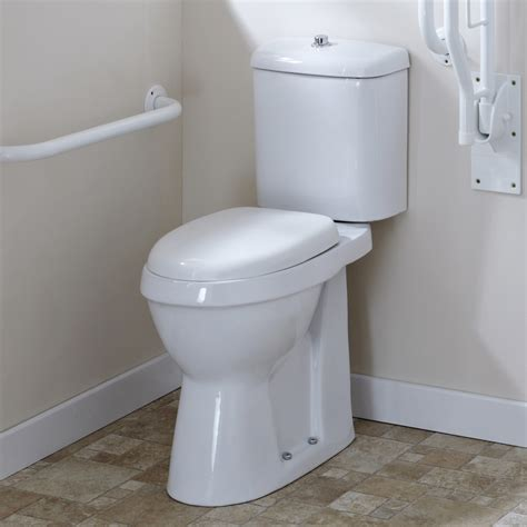 comfort toilets milano white disabled comfort height doc m wc toilet cistern