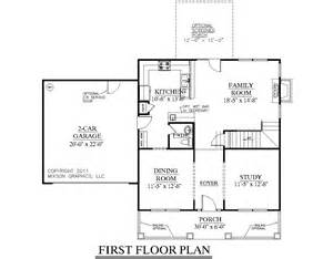 One Room Deep House Plans House Plan 1883 A Hartwell First Floor Plan 1883 Square