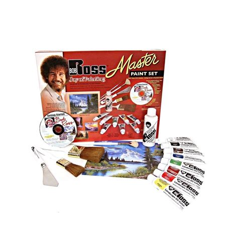 bob ross painting kit ebay weber bob ross master paint set with 1 hour dvd ebay