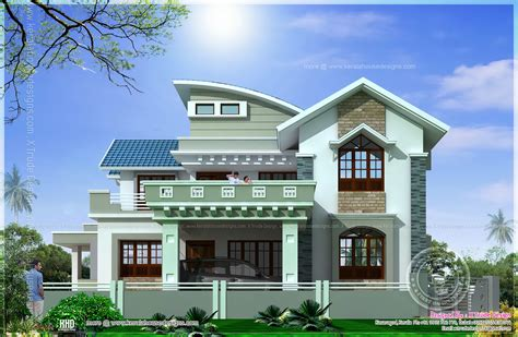 home design works beautiful 2138 square feet house elevation indian house