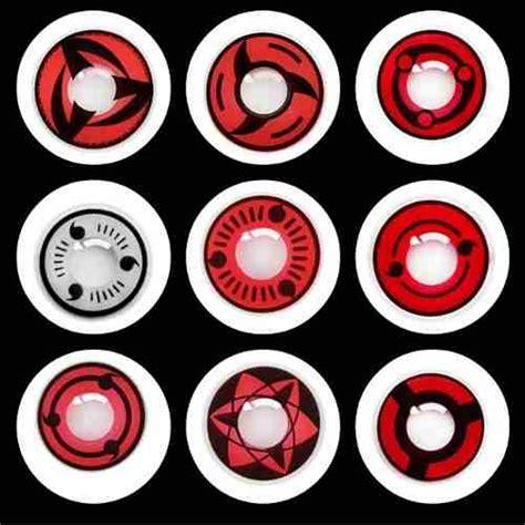 imagenes de ojos sharingan lentes de contacto modelos sharingan naruto mayorista de
