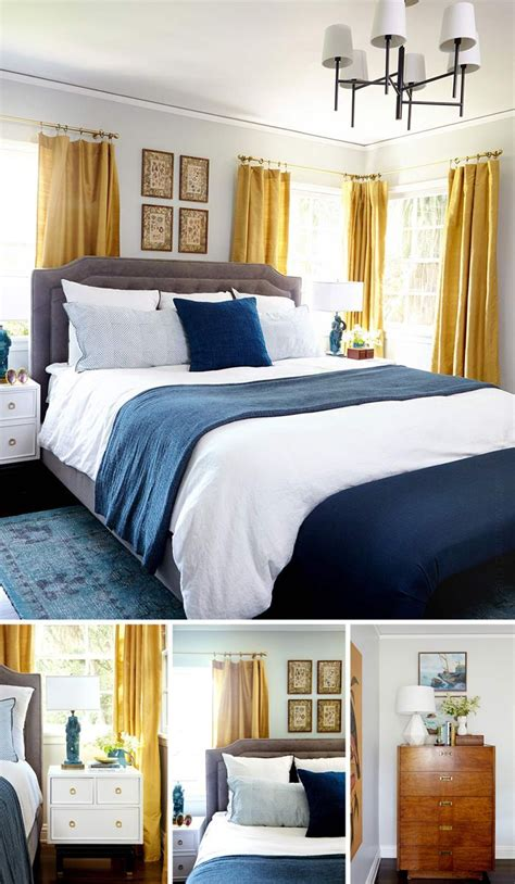 Blue And Yellow Bedroom by Best 25 Blue Yellow Bedrooms Ideas On Blue